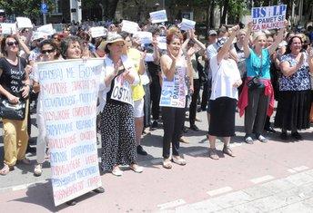 Majke protest Skupština