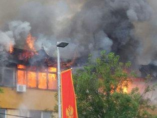 Požar RTV Pljevlja