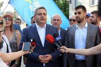 Slaven Radunović, DF Podgorica