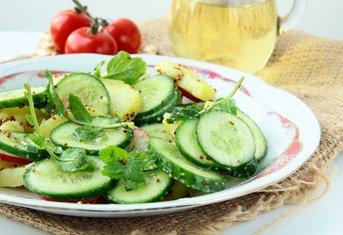 Salata od krompira i krastavaca