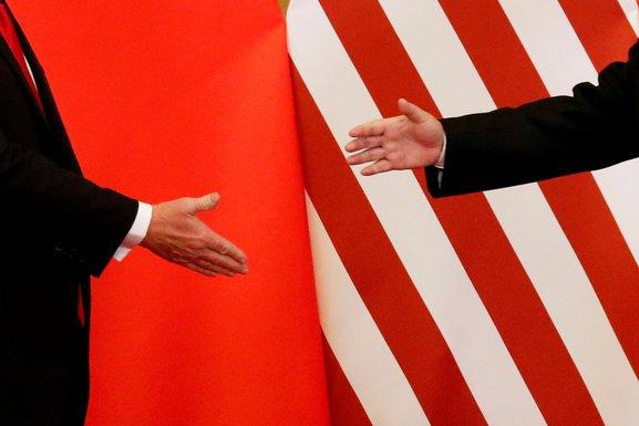 SAD i Kina, SAD, Kina