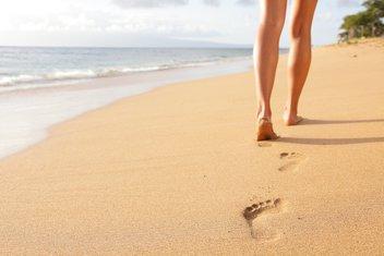 šetnja, plaža