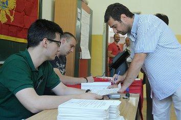 Izbori, glasanje, Podgorica
