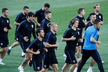 Hrvatska trening