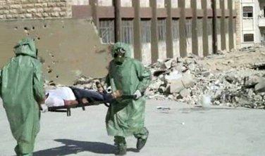 Sirija, hemijski napad