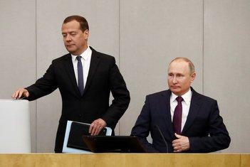 Dmitri Medvedev, Vladimir Putin