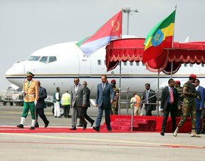Eritreja, Etiopija