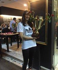 Ana Milačić, titula AEK 2018