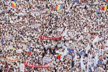 Rumunija, protest