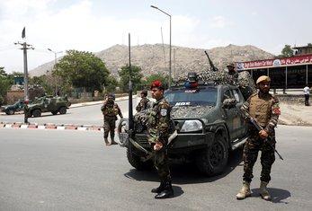 Kabul, bezbjednosne snage