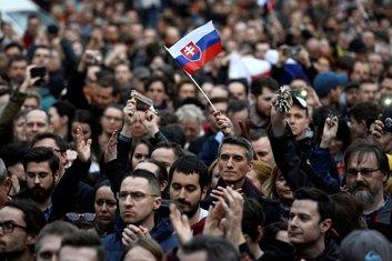 Bratislava, protest