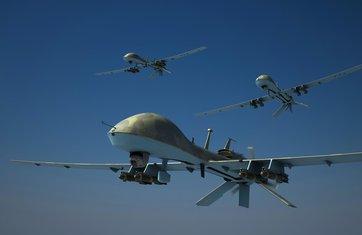 SAD, dron