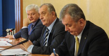Duško Marković, Predrag Bulatović, Obrad Stanišić
