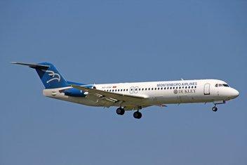 foker, Montenegro Airlines
