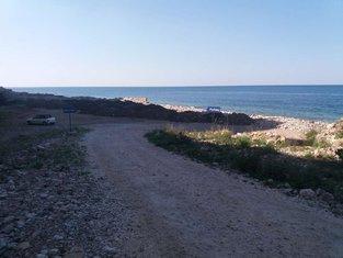 šut na plaži Perazića do