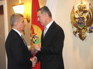 Ivan Brajović, Milo Đukanović