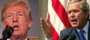 Donald Tramp, Džordž, Buš
