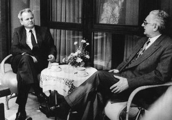 Slobodan Milošević, Franjo Tuđman