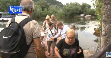Turisti, Skadarsko jezero