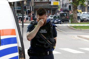 Belgija napad, Belgija pucnjava, Belgija policija