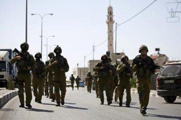 Zapadna obala, izraelska vojska