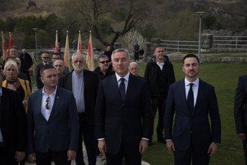 Orlov krš, Milo Đukanović, Aleksandar Bogdanović