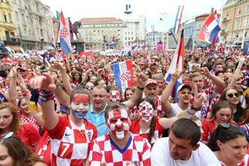 Hrvatska doček