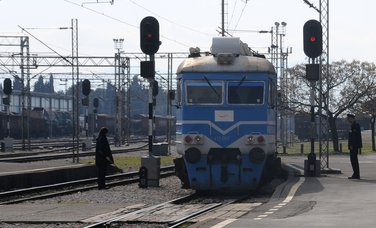 voz, željeznica, ŽPCG, šine