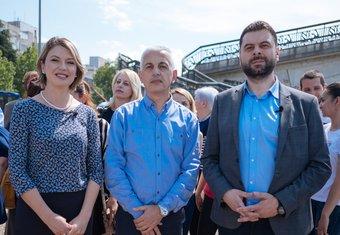 Ivan Vujović, Tina Raičević, Zoran vuković