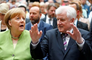 Angela Merkel, Horst Zehofer
