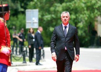 Milo Đukanović inauguracija