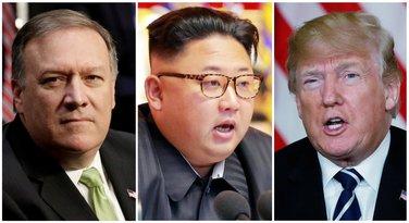 Majk Pompeo, Kim Džong Un, Donald Tramp