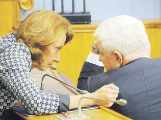 Milica Pejanović Đurišić, Duško Marković