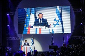 Emanuel Makron, Izrael