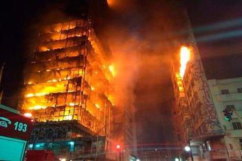 Sao Paulo požar