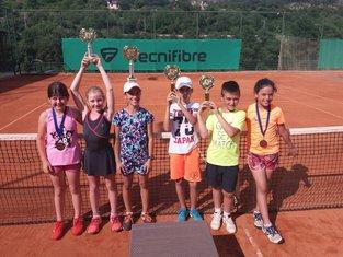 Prvenstvo CG u tenisu do 10 godina