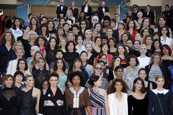 Marš žena Kanski festival