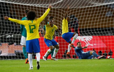 Njemačka - Brazil Gabrijel Žezus