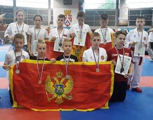 Karate, osvajači medalja na Balkanskom prvenstvu za pionire i nade