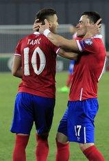 Dušan Tadić i Filip Kostić