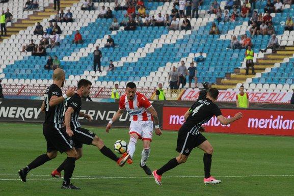 Nemanja Radonjić Crvena zvezda - Partizan