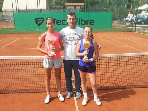 Kristina Božović i Anja Jovović