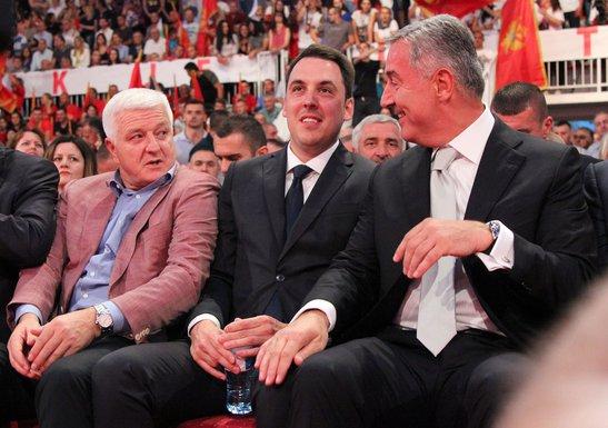 Duško Marković, Ivan Vuković, Milo Đukanović