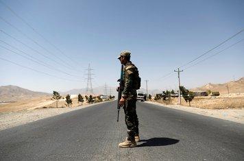 Gazni, avganistanski vojnik