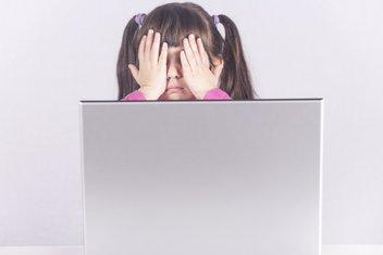 Djevojčica, kompjuter