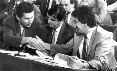 Milo Đukanović, Momir Bulatović, Svetozar Marović