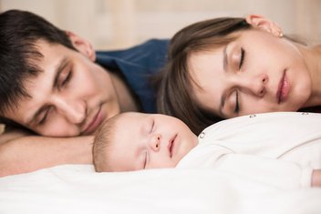 par, beba, roditelji