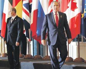 Vladimir Putin, Džordž Buš