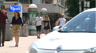 Podgorica, lijepo vrijeme, vrućine