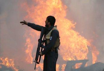 Avganistan, policija